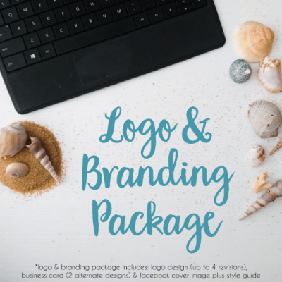 logo and branding package click for information