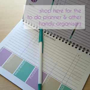 to do planner inside pages