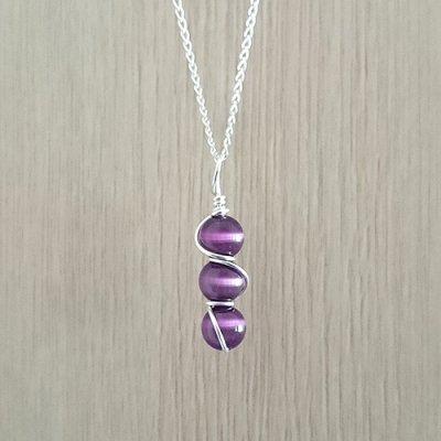 Alli-Mixi-3Stack-Purple-handmaderadgedesignjewellery