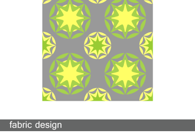 Art Deco Star Yellow