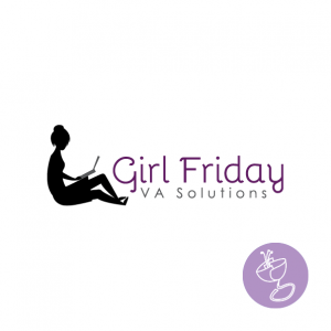 logo design for Girl Friday VA Solutions by Radge Design