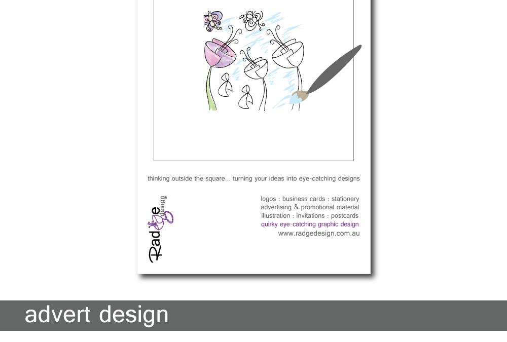 Radge Design Advert
