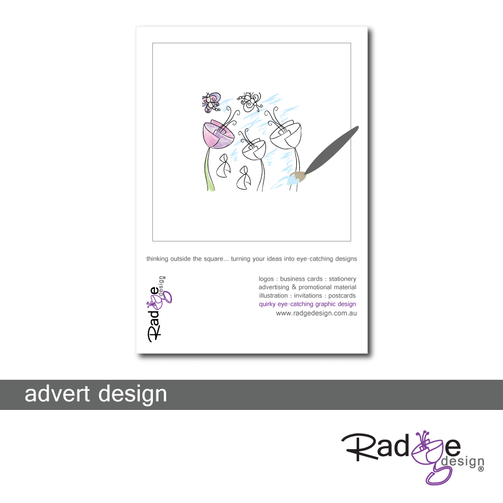 Radge Design Advert