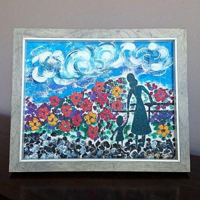 Secret Garden - acrylic on canvas board 2014