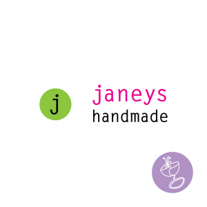janeys handmade logo design by radge design