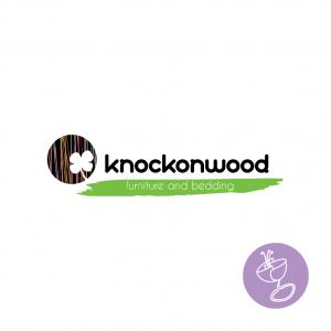 knockonwood logo design by radge design