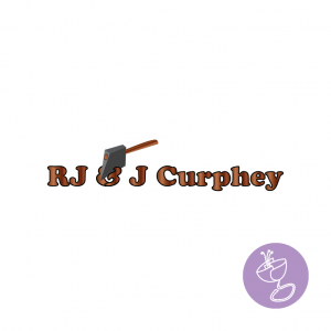 rj and j curphey logo design by radge design