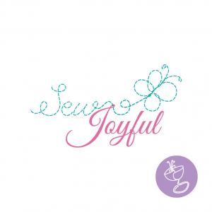 sew joyful logo design by radge design