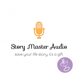 story master audio logo design by radge design