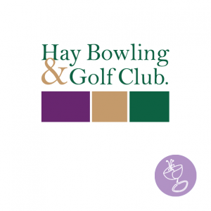 hay bowling and golf club logo