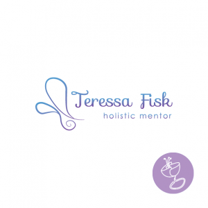 Logo Design for Teressa Fisk incorporating butterfly like image