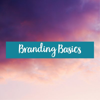 branding basics to get your branding started