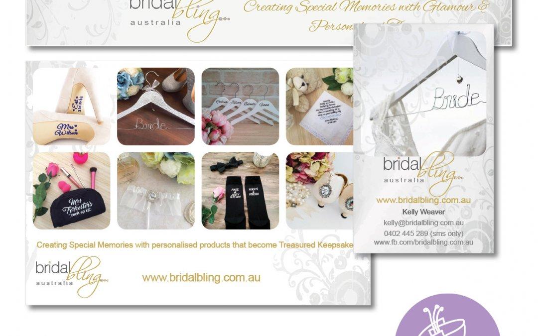Bridal Bling Branding Materials