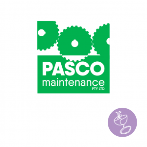 pasco maintenance logo and branding design
