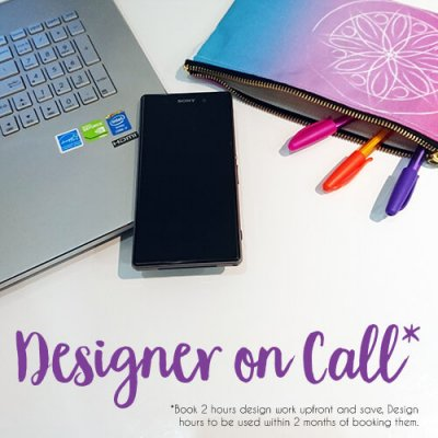 designer on call pre book hours and save