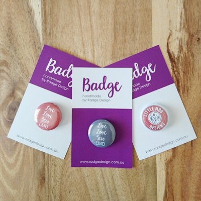 little moo designs branded badges