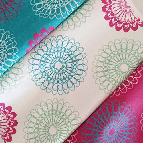 flower fabric designed by radge design
