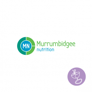 murrumbigee nutrition logo design