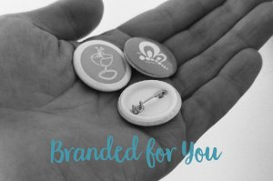 branded for you badges and magnets