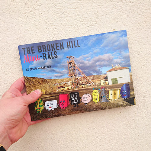 book layout and design for Broken Hill Mini-rals