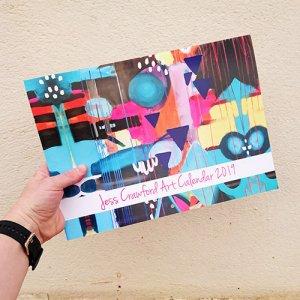 print design for calendar