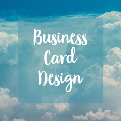 business card design graphic design australia