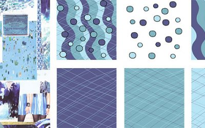 Aqua Balls – a surface pattern collection
