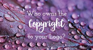who owns the copyright to your logo
