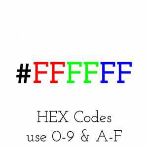 hex codes explained