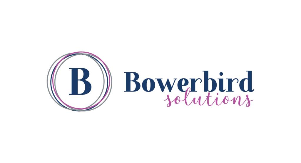 bowerbird solutions logo design