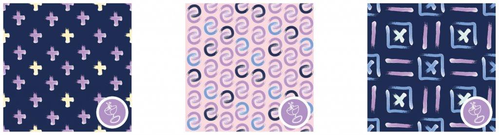 shoreline fabric design patterns