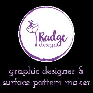 radge design graphic designer and surface pattern maker
