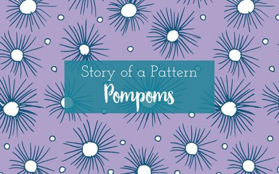 Pompoms | a surface pattern collection