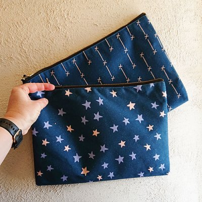 large pouch cosmos designs hide your craft supplies