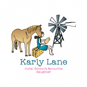 Karly Lane author logo design