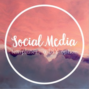 social media templates a DIY designer option