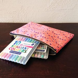 medium pouches perfect for a pencil case