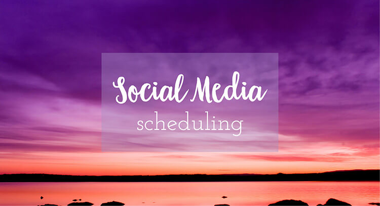 social media scheduling makes life easier