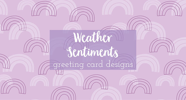 Greeting Card Collection Weather Sentiments