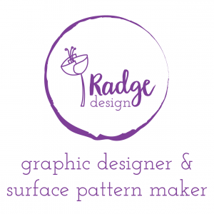 radgedesign fabric graphic designer and surface pattern maker