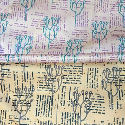 mindful notions fabric design poems