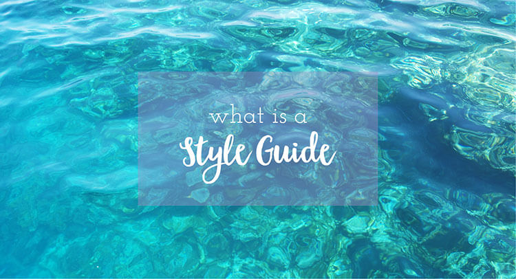 What is a Style Guide