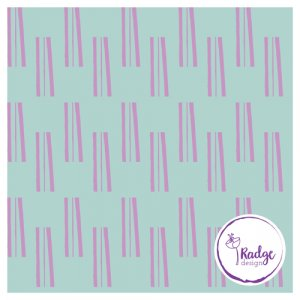 sticks bold quirky fabric mint