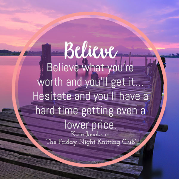 believe in the a to z of motivating quotes