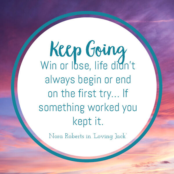 keep going in the a to z of motivating quotes