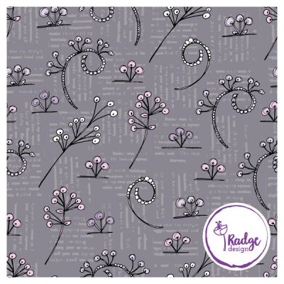 mindful notions floral fabric design