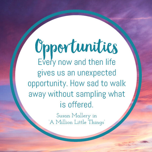 opportunities in the a to z of motivating quotes