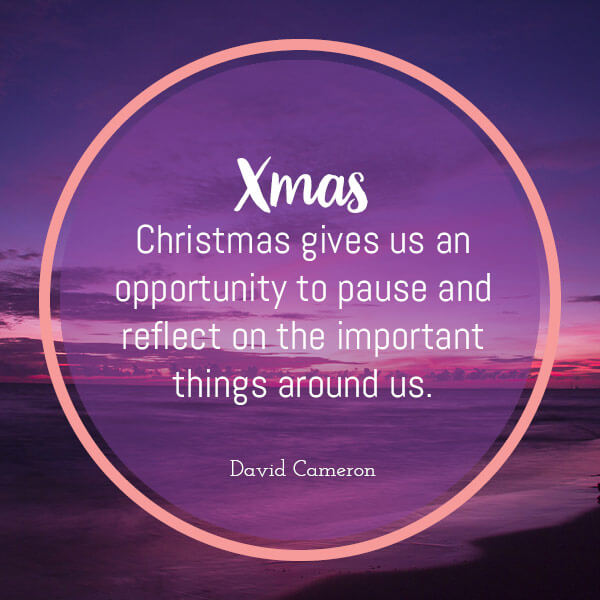 xmas in the a to z of motivating quotes