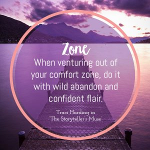 venture from your comfort zone and be inspired