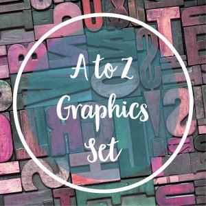 a to z designer graphics to share your knowledge